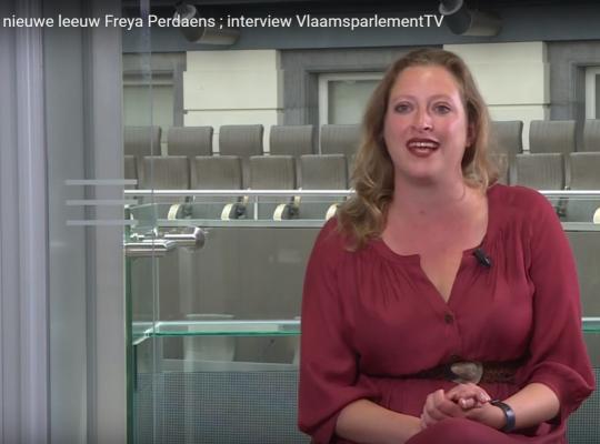 Nieuwe leeuw Freya Perdaens